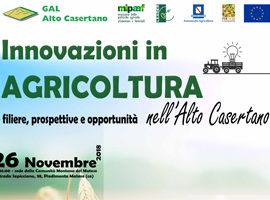 Innovazioni in Agricoltura nell'Alto Casertano