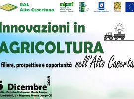 Innovazioni in Agricoltura nell'Alto Casertano - 05.12.2018